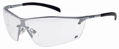 Bolle Silium Safety Glasses Spectacles Clear Lens Anti Mist Clear Sillium SILPSI