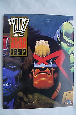 2000AD - Judge Dredd Yearbook 1992 - 25 Years Old - Mint