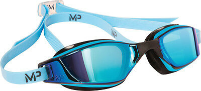 MP Michael Phelps XCEED multi-layer verspiegeltes Glas blau/schwarz