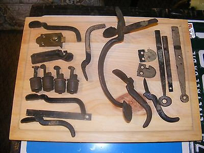 1860s antique thumb latches plus.ect. blacksmith done