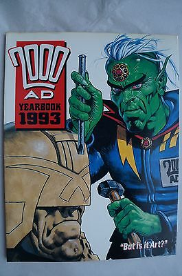 2000AD - Judge Dredd Yearbook 1993 - 23 Years Old - Mint