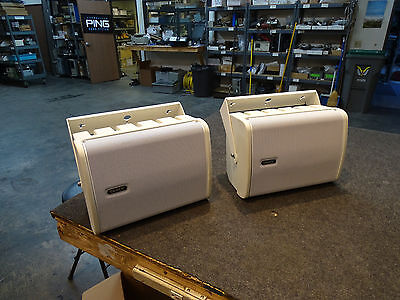 Pair of Tannoy i6 AW White All Weather Passive Speaker w/ Mount brackets