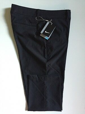 Nike Golf Ladies Tournament Cropped Trousers Black 725712 Clearance UK Size 8