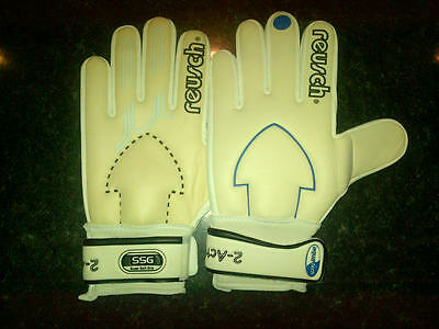 VINTAGE REUSCH 2 ACTION GOALKEEPER GLOVES Size 11