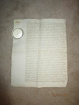 1816 & 1817 Documents from St Andrew's Church Leyland Lancashire England