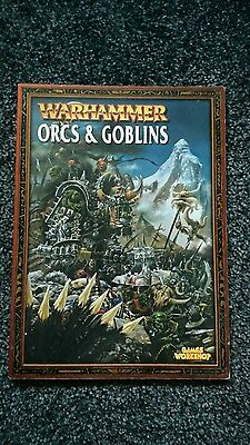 Warhammer Orcs and Goblins Army Book 6th Edition