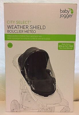Baby Jogger Weather Shield Stroller Cover- City Select Stroller - OPEN BOX