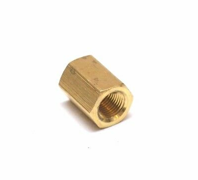 "Pipe Coupling 1/8"" Female NPT Brass Fitting FPT FIP Thread Joiner Adapter"