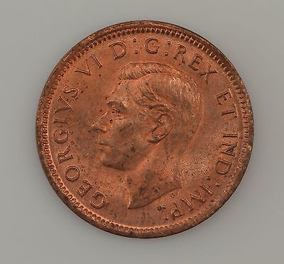 1943 Canada One Cent King George VI *2477