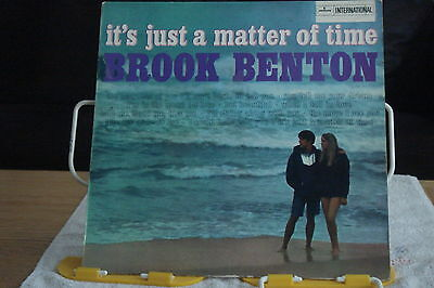 Brook Benton-It's Just A Matter Of Time-Uk Lp-Ex-Mercury -1959 –Stereo