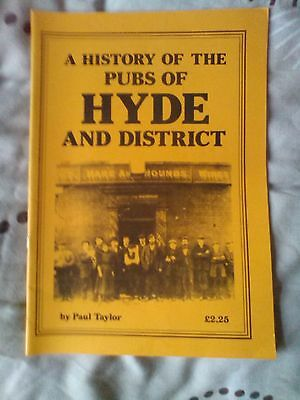 a history of the pubs of hyde and district book/booklet