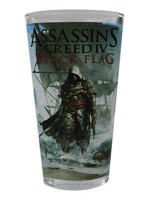Assassin's Creed Black Flag Drinking Glass