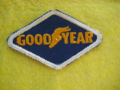 "Vintage Goodyear Racing  Patch 3 1/8 "" X 2  """