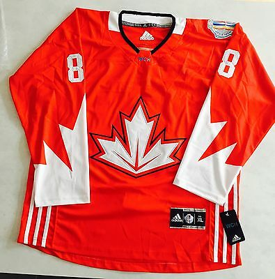 New Team Canada World Cup 2016 Jersey Burns #88