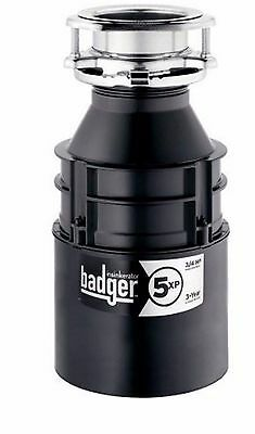 InSinkErator BADGER 5XP 3/4 HP Garbage Disposer Sink Waste Disposal, New