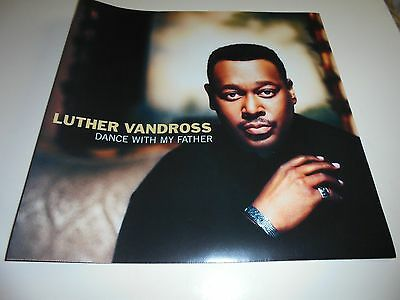 LUTHER VANDROSS - DANCE WITH MY FATHER PROMOTIONAL POSTER ( Excellent)