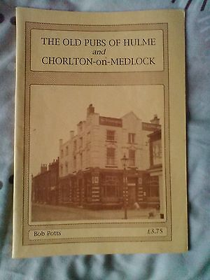 the old pubs of hulme and chorlton-on-medlock book/booklet