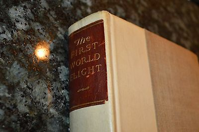 Signed 1925 Book - The First World Flight #445/575 - Lowell Thomas!! Must See!!