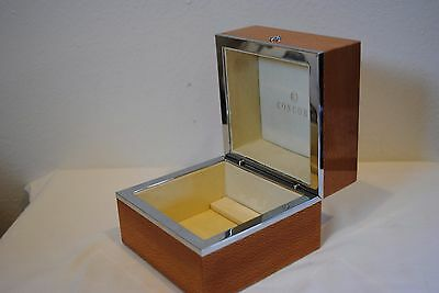 Authentic Concord Watch Box Only Wood Chrome Box For Concord Watch