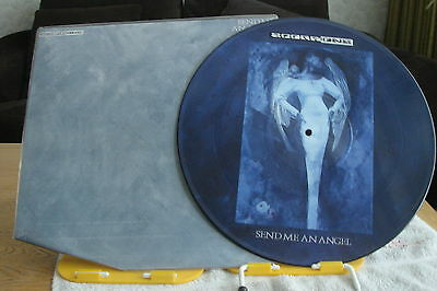 """Scorpions - Send Me An Angel-Uk 12"""" Picture Disc-Nm-Unplayed-1990"""