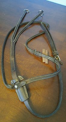 Antares Leather Martingale Adjustable Running Martingale