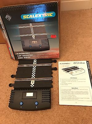 Scalextric Electronic Lap Counter Excellent Condition C8045