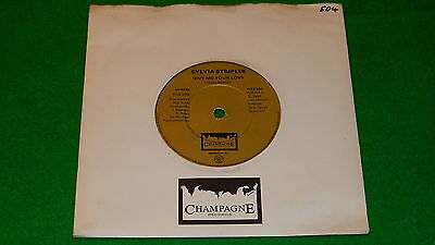 "SYLVIA STRIPLIN : Give me your love - Original 1980 Champagne 7"" single EX   #5P"