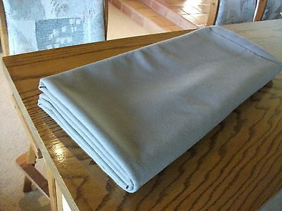Bumper Pool Table or Poker Table Billiard Recovery Cloth Felt Upholster Gray