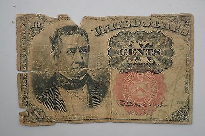 19th Century Ten Cents Fractional Currency, Fifth Issue *P70