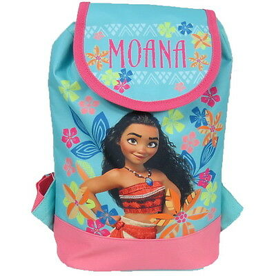 NEW OFFICIAL Disney Moana Girls Kids Backpack Rucksack Nursery School Bag