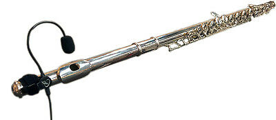 FLUTE MICROHONE, with FLEXIBLE GOOSENECK, FLUTE, FLUTE PICKUP,  Myers Pickups