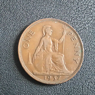 ONE PENNY George VI 1937
