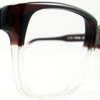 Vintage Kirk Brown Fade Unisex Eyeglasses Sunglasses Glasses New