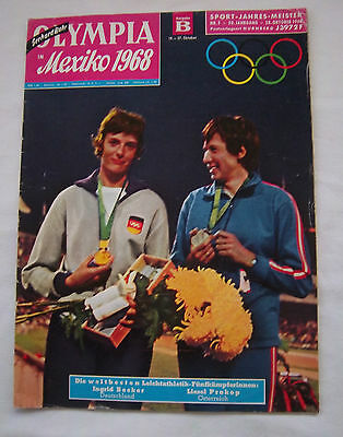 Orig.PRG / Guide   Olympic Summer Games MEXICO 1968  // Edition B  !!  VERY RARE