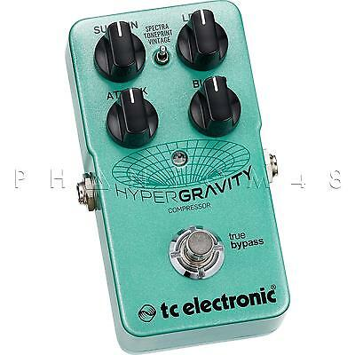 TC Electronic HyperGraviter Compressor Hyper Gravity Guitar Effects Pedal