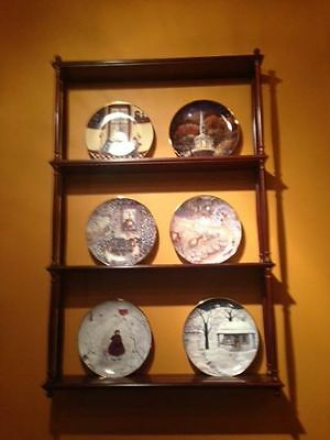 wall mounted plate holder with 6 cat plates