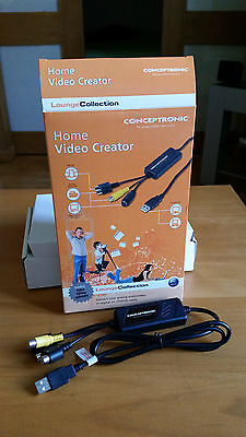 Conceptronic Home Video Creator (Pasa Tus Vhs A Digital)
