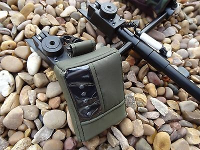 Receiver pouch only made to fit Steve Neville 2016 model GREEN with swivel clip