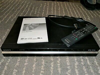 Sony RDR-HX780 DVD Recorder and 160Gb HDD