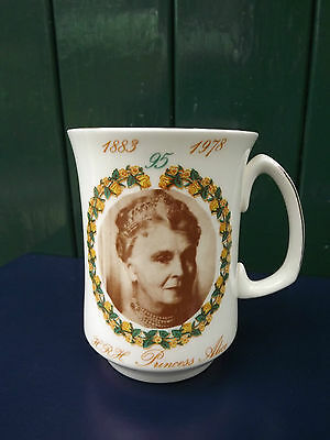 1978 Princess Alice Countess of Athlone 95th Birthday China mug