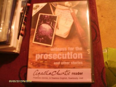 Agatha Christie Reader ...Witness for the prosecution 2CD AUDIO BOOK