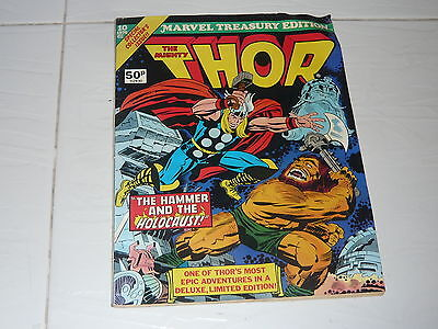 Marvel Comics Large Size 1976 Treasury Special The Mighty Thor Good Condtn MT