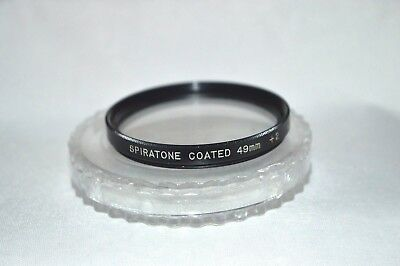 Spiratone 49 mm Close-Up +2 Screw-In Lens with Case Made in Japan (T-22)