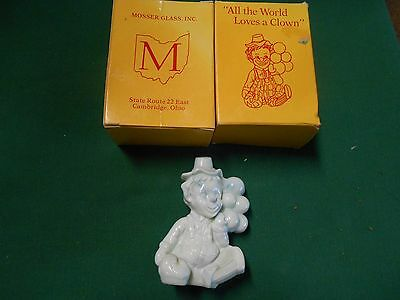"Great Collectible MOSSER Glass Figure""All the World Loves a Clown"" HOAGY"