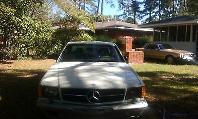 1985 Mercedes-Benz 500-Series  1985 SEC 500 Mercedes