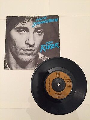 "Bruce Springsteen 7"" Single - The River"