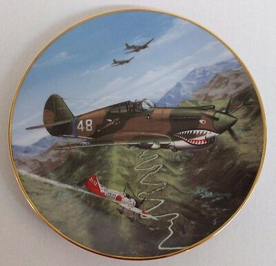 P-40 Flying Tiger Collectible Plate