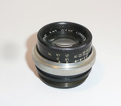 "Tiny Wray 3 1/4"" F4.5 ""supar""  Enlarger Lens"