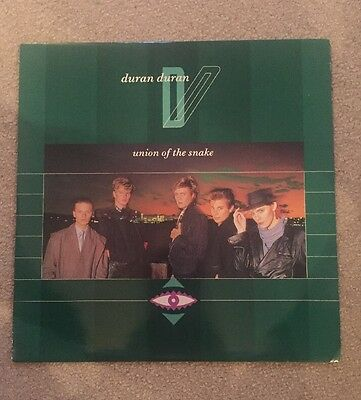 Duran Duran - Union Of The Snake 12 Inch Vinyl EMI 5429 Picture Cover