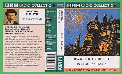 Agatha Christie - Peril At End House . Audio Book  Cassettes (P266)